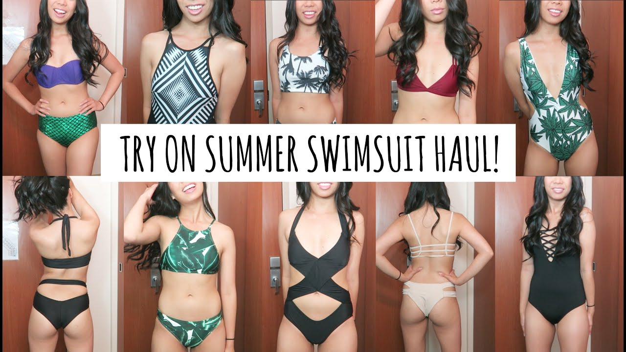 Summer Swimsuits Try On Haul from Zaful! - YouTube