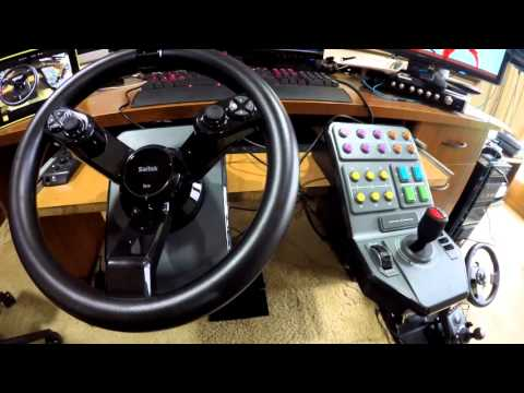 Farming Simulator 15 Steering Wheel Unboxing and Setting Up