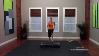 Step aerobics workout routine with Jenni - 30 Minutes