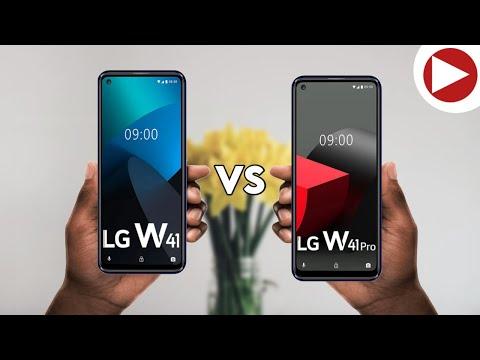 LG W41 vs LG W41 Pro