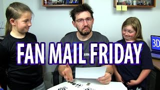Fan Mail Friday 007 - Bring Your Daughter To Work Edition