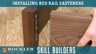 Installing Bed Rail Fastener Brackets | Rockler Skill Builders