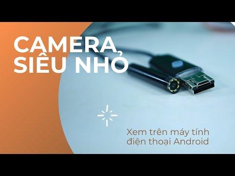 Camera mini siêu nhỏ kết nối điện thoại Android và máy tính PC AN99 CNS-06