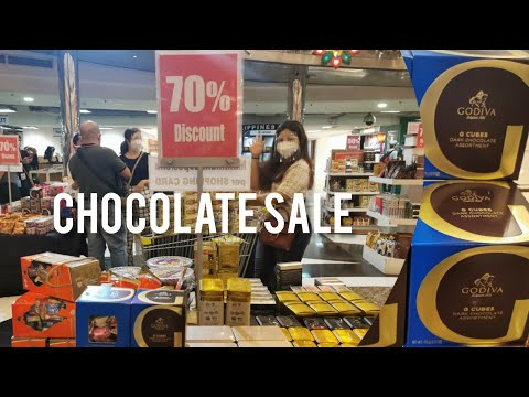 CHOCOLATE SALE AT DUTY FREE PHILIPPINES