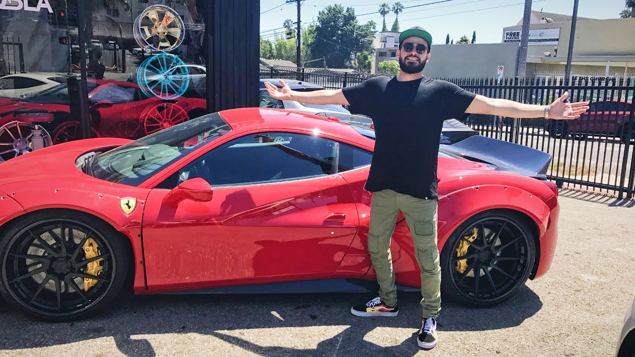 Unveiling Gabriel Fluffy Iglesias New Car Youtube