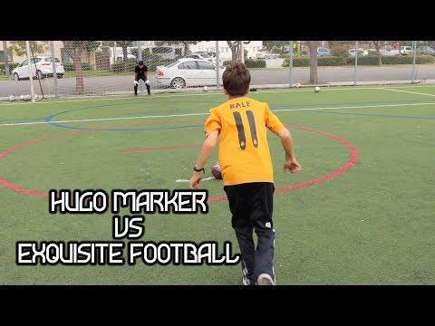 HUGO MARKER VS EXQUISITE FOOTBALL PENALTIES!!! (UNCUT)