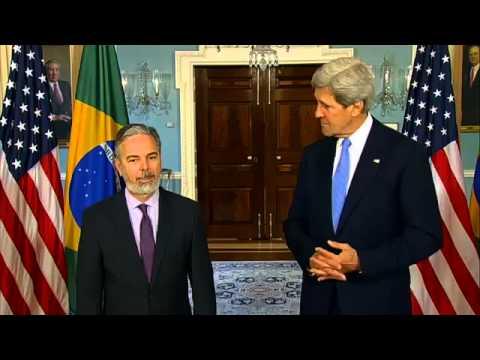 Declaração à imprensa do Ministro Antonio Patriota e do Secretário de Estado John Kerry