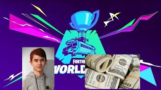 BUGHA POPS OFF AND WINS THE FORTNITE WORLD CUP *MUST WATCH*