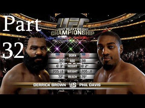 EA Sports UFC The Ulttimate Fighter Gameplay Walkthrough Part 32 - Phil Davis Rematch - (Xbox One)