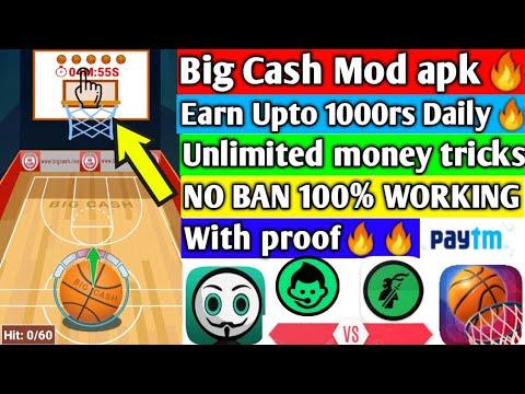 BIG CASH MOD APK || BIG CASH TRICK 2019|| BIG CASH ALL GAMES MOD APK || NO BAN 100% WORKING ||