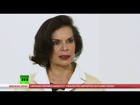 Bianca Jagger on sexual violence summit