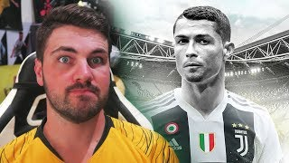 CRISTIANO RONALDO JOINS JUVENTUS FOR £100 MILLION!!!