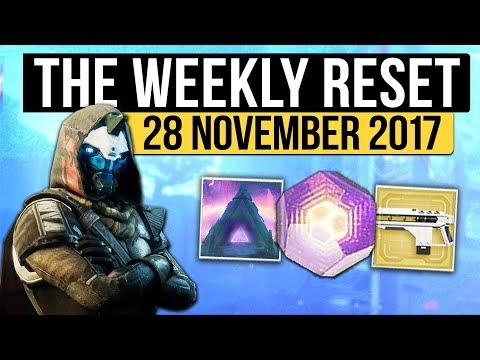 Destiny 2 | WEEKLY RESET! - Season 2 Refresh, DLC Reveal, Nightfall & Vendor Reset (28th November)