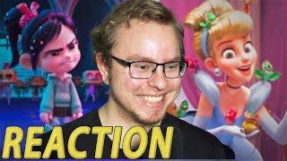 Ralph Breaks the Internet: Wreck-It Ralph 2 Trailer REACTION