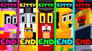 Roblox - All 5 Endings - Piggy Game Kitty!