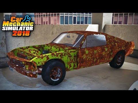 Car Mechanic Simulator - Restoration Garage 1 - Spectre Fastback