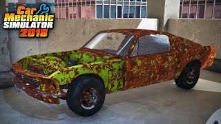 Car Mechanic Simulator - Restoration Garage 1 - Spectre Fastback