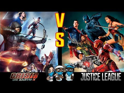 The CW CRISIS on EARTH-X was better than Justice League?!?! Iris or Felicity? DC debate feat ECOMOG!