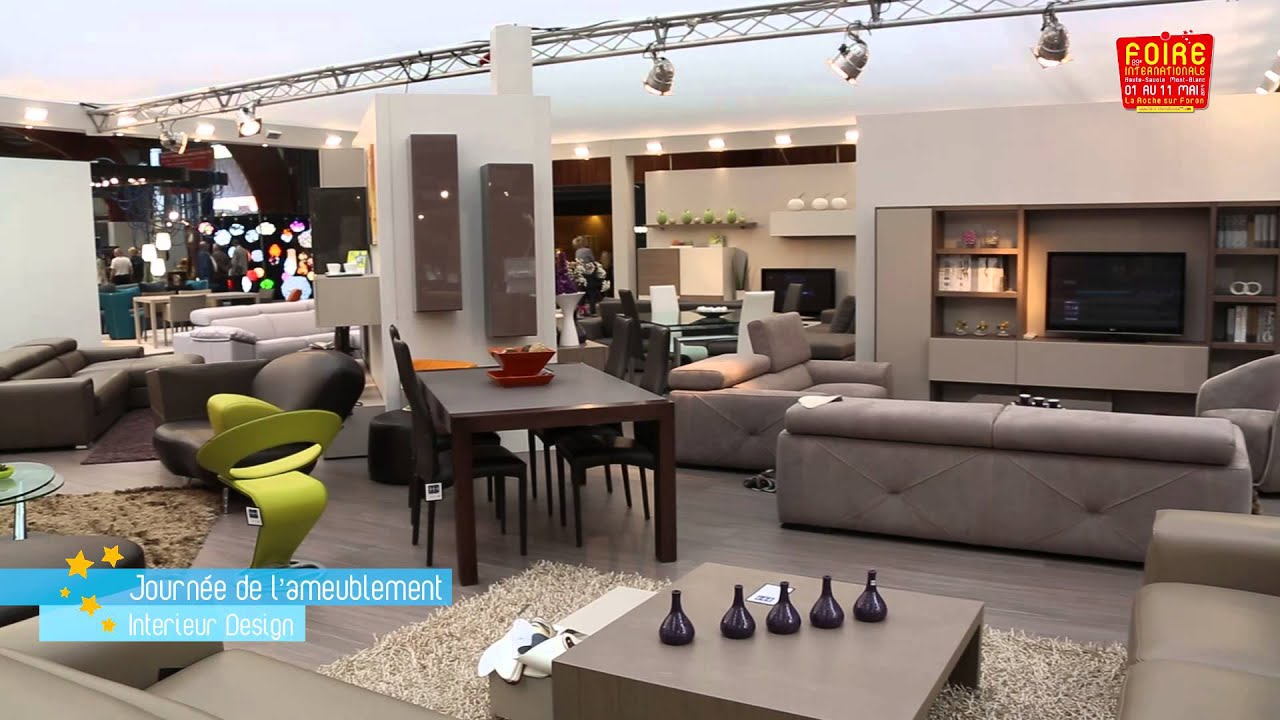 clip mobilier int rieur foire internationale 2014 youtube. Black Bedroom Furniture Sets. Home Design Ideas