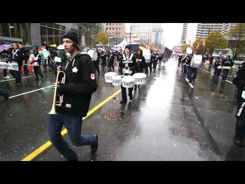 SARDIS MARCHING FALCONS At Grey Cup 2011 Parade