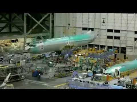Proses Pembuatan Pesawat Terbang Komersial