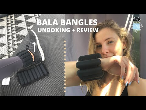 Bala Bangles Unboxing and Review | 2lb Bala Bangles | Ankle & Wrist Weights