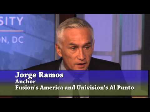A Conversation with Jorge Ramos: Journalism, Activism and the Latino Vote