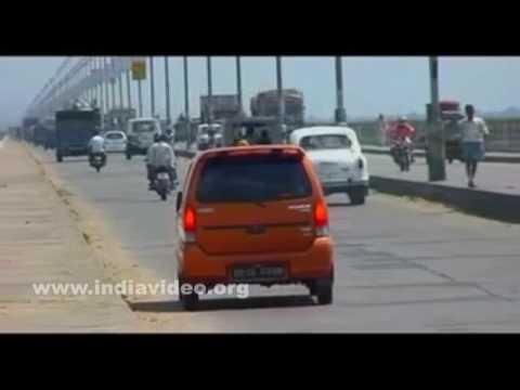 Mahatma Gandhi Setu; longest single river bridge in Asia