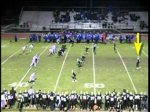 #26-Alonte Riley-Pete Knight High School-2010 Football Highlights