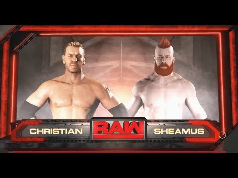 Christian vs. Sheamus-