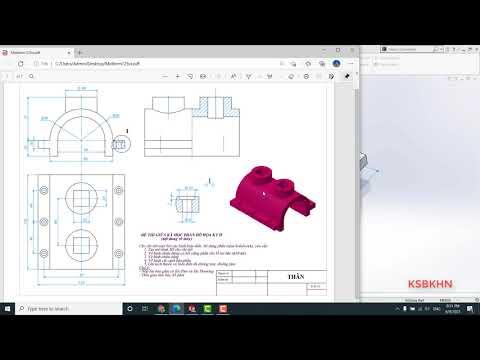 Tự học Solidworks cơ bản 1 - Hướng dẫn vẽ Solidwork từ con số 0 - How to design by Solidworks