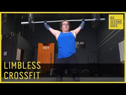 Meet A CrossFit Athlete Who Has No Legs And No Arms