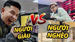 ĐẠI CHIẾN LAPTOP GAMING: NGƯỜI GIÀU vs NGƯỜI NGHÈO!!!