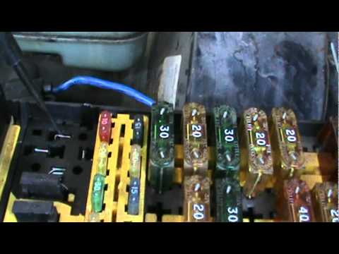 1995 ford ranger intermittent starting issue fixed youtube rh youtube com Ford Expedition Fuse Box E350 Ford Van Fuse Box