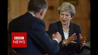 Theresa May on NHS, Brexit and upskirting - BBC News