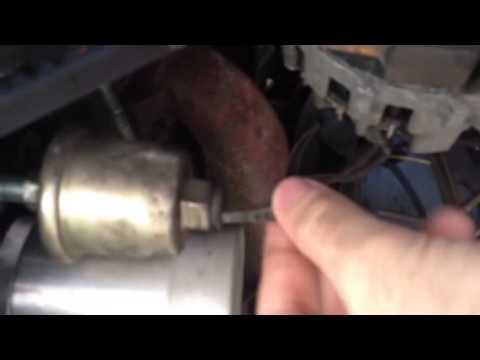 DMCToday com - How to test and replace an oil pressure sending unit in a  Delorean
