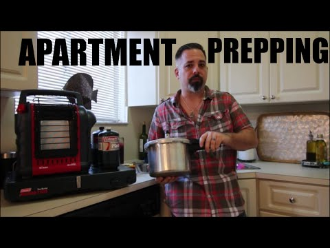 Apartment-Based Disaster Preparedness Part 1 (Water & Fuel)