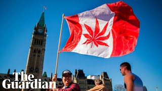 Justin Trudeau says legalising cannabis will protect children