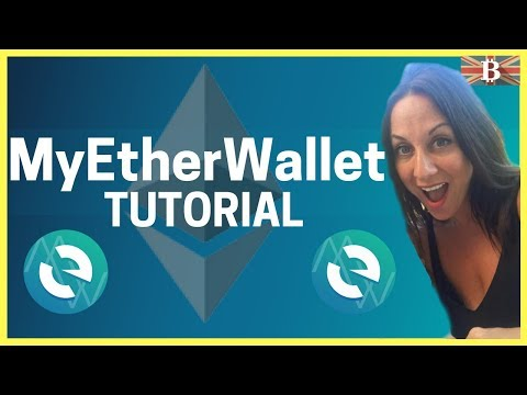 MyEtherWallet (MEW) Tutorial - How To Export Private Keys & ERC20 Tokens