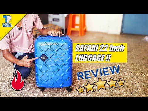 Safari 22 inch Cabin Luggage Review | Best luggage under Rs.2500 ?