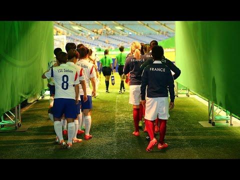 France v. Korea Republic, Canada 2014 HIGHLIGHTS