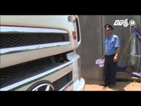 VTC14_Hà Tĩnh: Truy đuổi xe chở quá tải trốn trạm cân suốt 20km