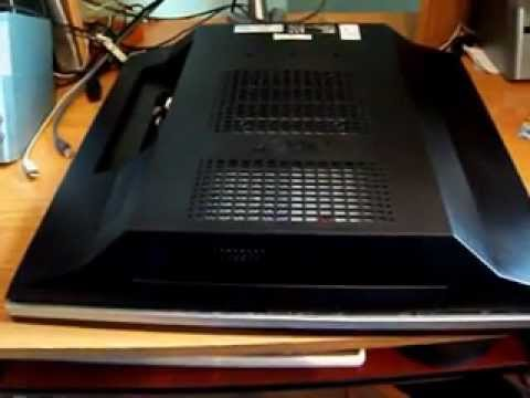 Acer Aspire all in one PC model AZ5101 Disassembly