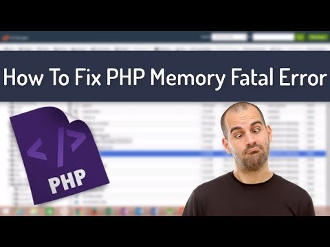 Fix: How To Fix WordPress PHP Fatal Error | PHP Memory Exhausted Error | 2017