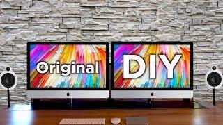 DIY externer 5K Monitor im iMac Look - Einfach selber bauen!   Tips, Tricks & More