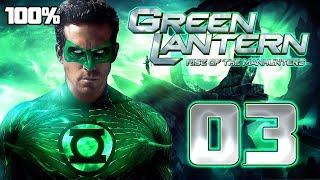 Green Lantern: Rise of the Manhunters Walkthrough Part 3 (PS3, X360, Wii) 100% Mission 3