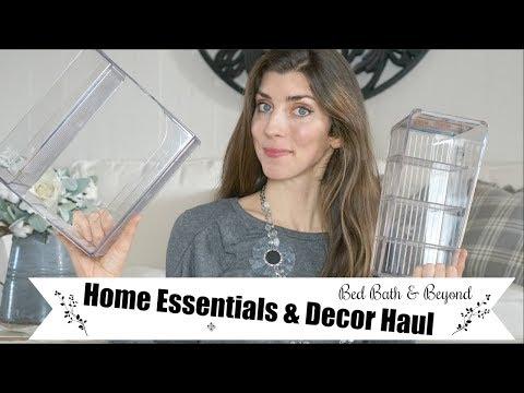 Home Necessities Haul | Organization & Decor | Momma From scratch
