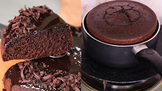 CHOCOLATE CAKE ONLY 3 INGREDIENTS IN LOCK-DOWN | WITHOUT EGG | OVEN I MAIDA | N'Oven