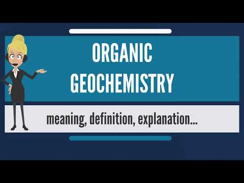 What Is ORGANIC GEOCHEMISTRY? What Does ORGANIC GEOCHEMISTRY Mean? ORGANIC GEOCHEMISTRY Meaning