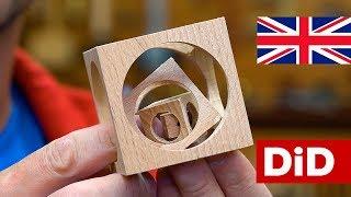 E10. Wooden cube in cube in cube in cube - it's easy!